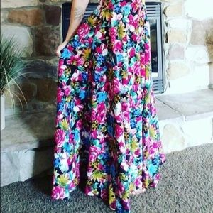 Agnes and Dora Ball Skirt - Medium - Floral